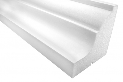 Fassadenprofile Gesimsprofile Dekorstuck stoßfest 200x200mm Sparpaket KC121