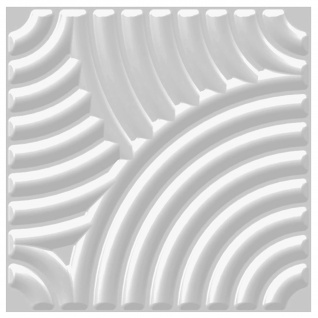 3D Platten | Natur | Stuck | Paneele | 50x50cm | Julia