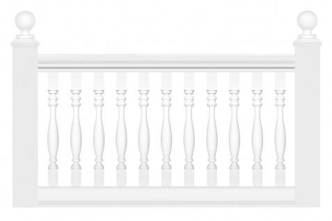 Balustrade   Geländer aus PU Kunststoff - resistent, stoßfest, leicht   Perfect