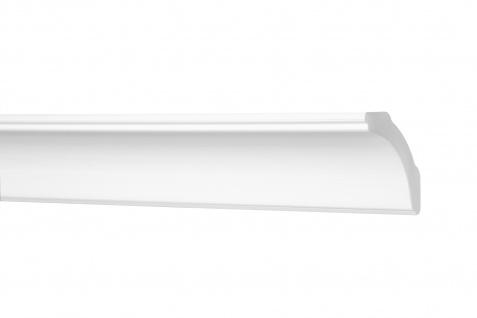 Stuckleisten 10 Meter Zierleisten Flachleisten XPS stabil Sparpaket 20x80mm E-30