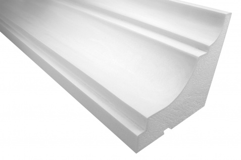 Fassadenprofile Gesimsprofile Dekorstuck stoßfest 225x230mm Sparpaket KC127