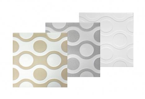 Sparpaket Deckenplatten Polystyrolplatten Decke Dekor Platten 50x50cm Nr.98