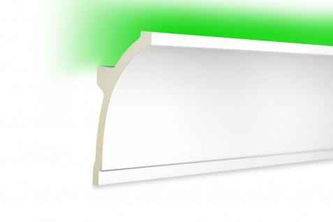 2 Meter LED Leiste indirekte Beleuchtung lichtundurchlässig Profile 100x50 KF704