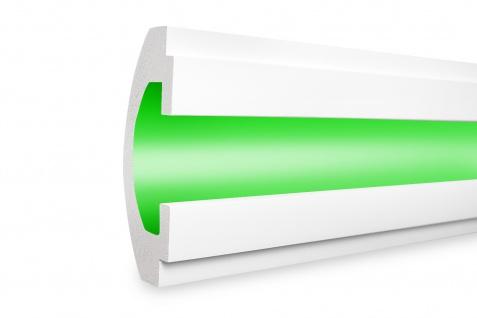 1, 15 Meter LED Profil XPS Stuck Trockenbau Tesori 165x60mm KD112