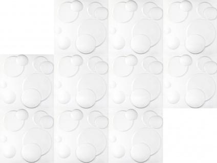 1 qm 3D Platten Natur Stuck ökologisch Paneele 3D Elite Panels 50x50cm Wendy - Vorschau 4