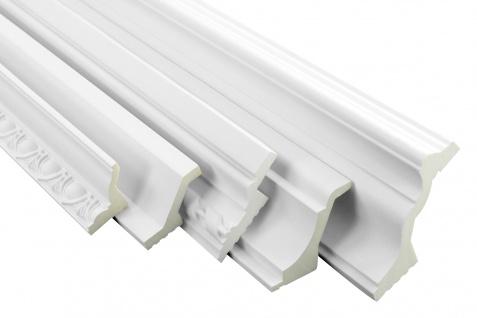 Musterstücke LED-1 bis LED-20 Profil aus PU - indirekte Beleuchtung, lichtundurchlässig