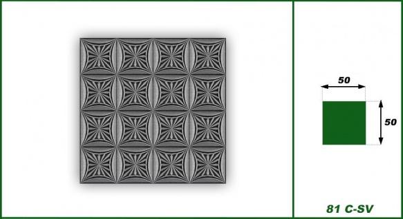 Sparpaket Deckenplatten Polystyrolplatten Decke Dekor Platten 50x50cm Nr.81 - Vorschau 3