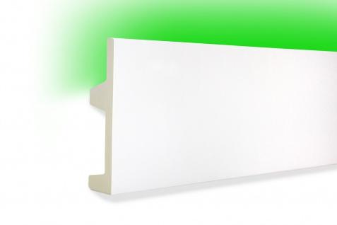 2 Meter LED Profile Leiste indirekte Beleuchtung lichtundurchlässig 102x25 KF504