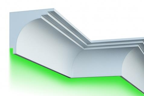 Fassade LED Stuck EPS PU Fassadenleisten wetterfest 250x220mm Sparpaket KC305