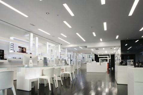 1, 15 Meter LED Leiste Trockenbau Stuckprofil Beleuchtung indirekt 120x55mm KD306 - Vorschau 5