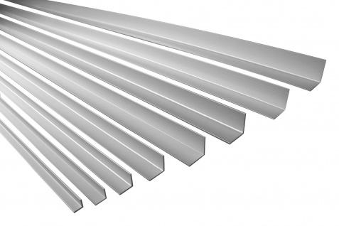 2 Meter Winkelprofil gleichschenklig Rostfrei Alu Eloxiert Effector B10-B17 - Vorschau 1