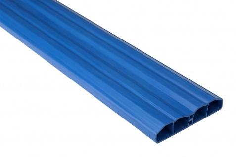Zaunlatte PVC Garten Außenbereich Profile blau Sparpaket Hexim 80x16mm PZL-19