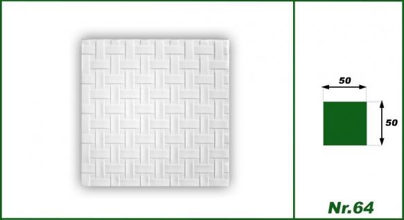 1 qm Deckenplatten Polystyrolplatten Stuck Decke Dekor Platten 50x50cm Nr.64 - Vorschau 2