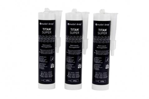 Montagekleber Acryl Baukleber hohe Haftung Sparpaket Marbet Titan Super
