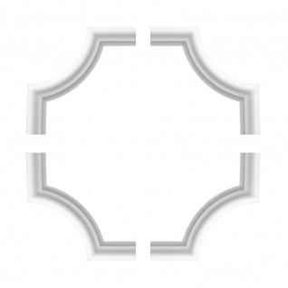 1 Set Segmente Bögen für Flachleiste E-19   Stuck   Marbet Design   NE-19-01