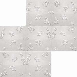 1 qm Deckenplatten Polystyrolplatten Stuck Decke Dekor Platten 50x50cm Jesien - Vorschau 2