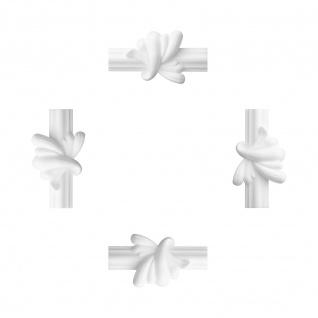 1 Set Zwischensegment für Flachleiste E-18   Stuck   Marbet Design   LE-18-01