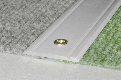 0, 93 Meter Übergangsprofile Alu Bodenleiste eloxiert rostfrei 30x2mm A02