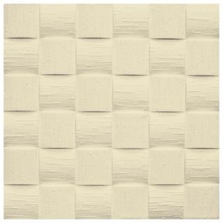 Sparpaket Deckenplatten Polystyrolplatten Decke Dekor Platten 50x50cm Len beige