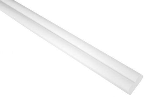 2 Meter | Flachprofil | PU | stoßfest | Grand Decor | 20x8mm | CR803