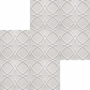 1 qm Deckenplatten Polystyrolplatten Stuck Decke Dekor Platten 50x50cm Saturn - Vorschau 2