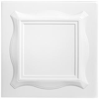 1 qm Deckenplatten Polystyrolplatten Stuck Decke Dekor Platten 50x50cm Nr.15