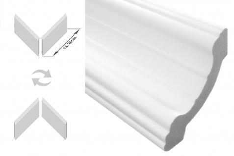 Stuckleisten inkl. Ecken  XPS   stabil   Marbet   80x80   E-34-NK