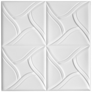 Sparpaket Deckenplatten Polystyrolplatten Decke Dekor Platten 50x50cm Nr.80