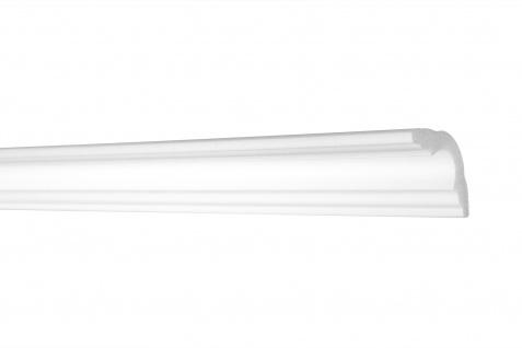 2 Meter Zierleiste Stuckleiste Eckprofil Styroporleiste XPS stabil 35x35mm E-42