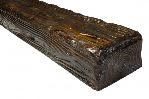 2 Meter   Balken   Decke   Holzimitat   PU   190x130mm   Deco Wood   EQ005