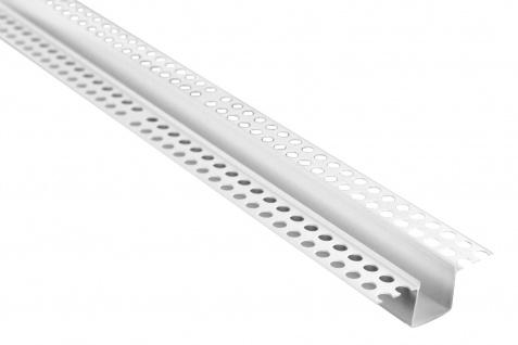 Trennprofil Randschlag Bossenwerk Fassade PVC versch. Maße Lemal PT11, 2 Meter