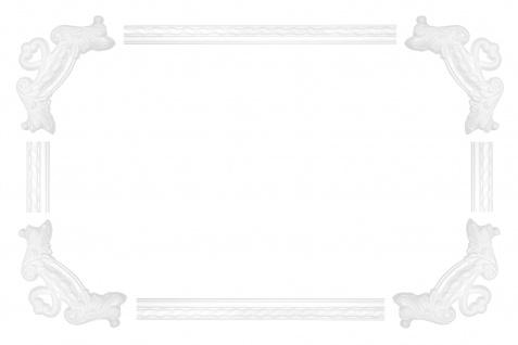 Wand- und Deckenumrandung   Fries   Stuck   Rahmen   stoßfest   AC264