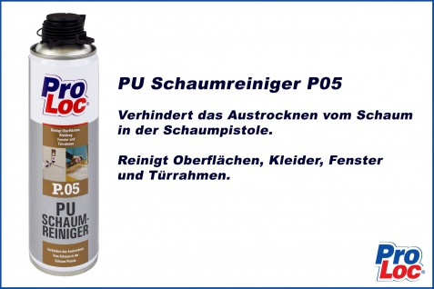 1 Dose Montageschaumreiniger PU Pistolenreiniger ProLoc P05 - Vorschau 2
