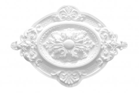1 Rosette | Decke Stuck Innendekor EPS Dekor Marbet 570x400mm R-4
