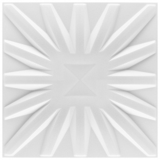 3D Paneel | Styroporplatten | Wandverkleidung | EPS | 50x50cm | Sun | 1 qm