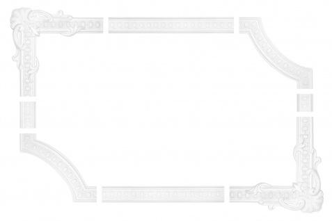 Wand und Deckenumrandung Fries Spiegel Bilderrahmen Stuck Dekor stoßfest AC250