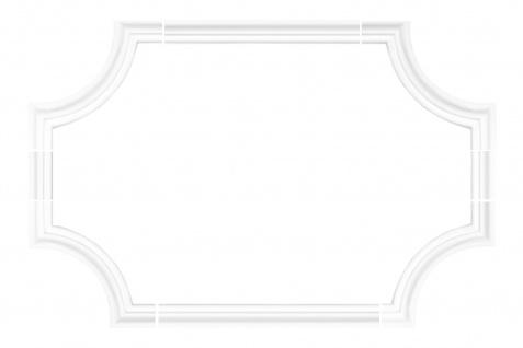 Wand- und Deckenumrandung   Fries   Stuck   Rahmen   stoßfest   AD389