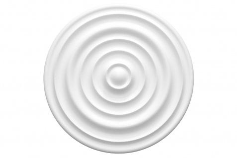 1 Rosette | Decke Stuck Innendekor EPS Dekor Marbet Durchmesser 40cm R-1