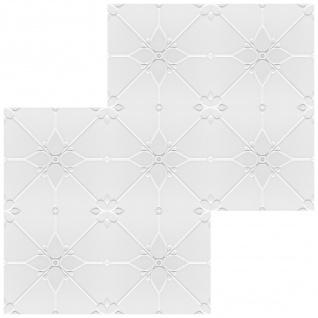 1 qm Deckenplatten Polystyrolplatten Stuck Decke Dekor Platten 50x50cm Nr.35 - Vorschau 3