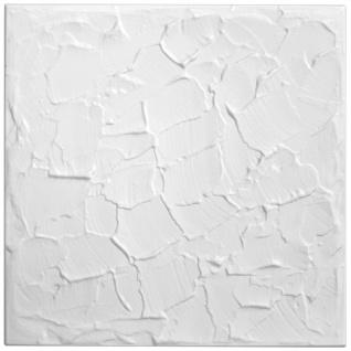 1 qm Deckenplatten Polystyrolplatten Stuck Decke Dekor Platten 50x50cm Nr.11