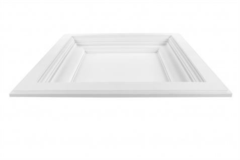 1 Deckenplatte Polystyrolplatten Stuck Decke Dekor Platten 60x60cm R241 - Vorschau 4