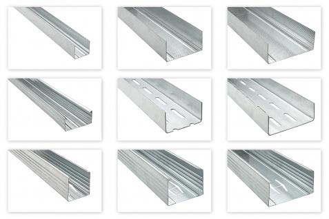 CD UD CW UW UA Trockenbau Profile 2-3m Deckenabhängung Ständerwerk Versandpakete