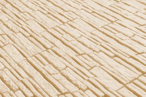 Dekorsteine Steinoptik Wandplatten Styroporplatten Verblender 48x18cm Rock beige - Vorschau 5