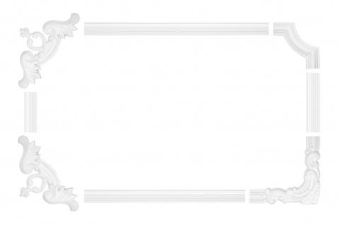 Wand- und Deckenumrandung   Fries   Stuck   Rahmen   stoßfest   AD390