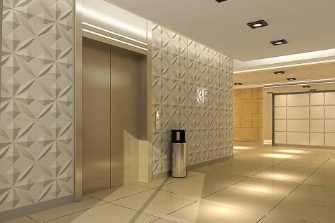 1 qm 3D Platten Natur Stuck ökologisch Paneele 3D Elite Panels 50x50cm Sherlock - Vorschau 5