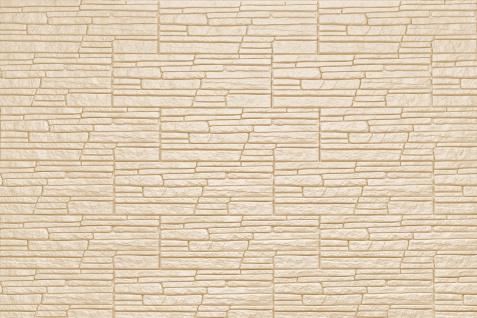Dekorsteine Steinoptik Wandplatten Styroporplatten Verblender 48x18cm Rock beige - Vorschau 2