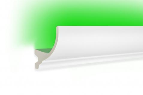 2 Meter LED Profile indirekte Beleuchtung Leiste lichtundurchlässig 105x70 KF715