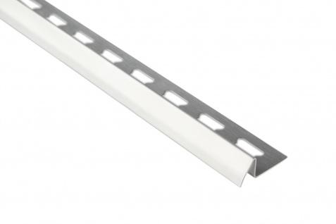 Anpassungsprofil 12mm | Edelstahl Fliesenschienen - silber | EUE Sparpaket