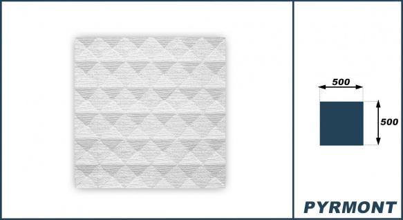 Sparpaket Deckenplatten Polystyrol Stuck Decke Dekor Platten 50x50cm Pyrmont - Vorschau 3