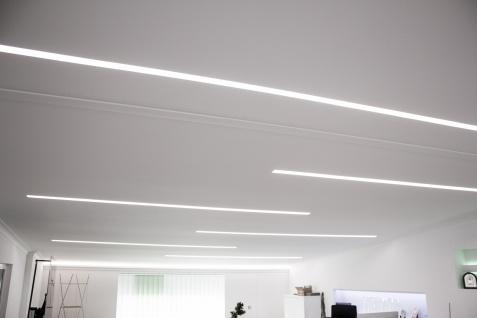 1, 15 Meter LED Profil XPS Stuck Trockenbau Tesori 185x35mm KD406 - Vorschau 3